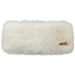Barts Fur Headband - White