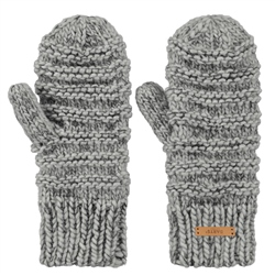 Barts Jasmin Mittens - Heather Grey