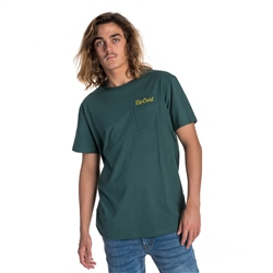 Rip Curl On Da Gun T-Shirt - Green