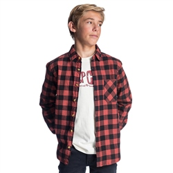 Rip Curl Check It Shirt - Rust