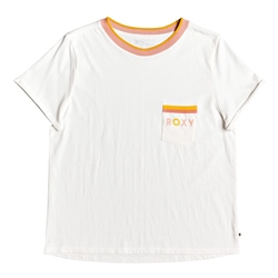 Roxy Broken Lines T-Shirt - White