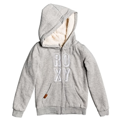 Roxy Say Love B Zipped Hoody - Heritage Heather