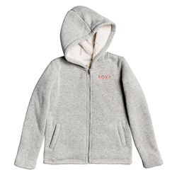Roxy Super Cosy Zipped Hoody - Heritage Heather