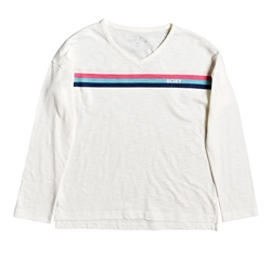Roxy Mellow Blues T-Shirt - White