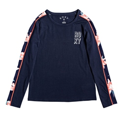 Roxy Same Moon T-Shirt - Indigo