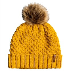 Roxy Blizzard Beanie - Yellow