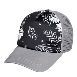Roxy Waves Machine Trucker Cap - Black