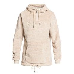Roxy Pluma Hooded Fleece - Oyster