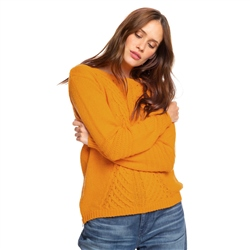 Roxy Glimpse Jumper - Golden