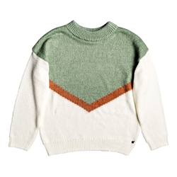Roxy Trip For 2 Jumper - White