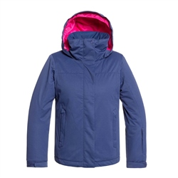 Roxy Jetty Solid Tech Jacket - Blue