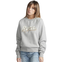 RVCA Slacker Sweatshirt - Athletic Heather