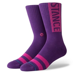 Stance Og Socks  - Purple