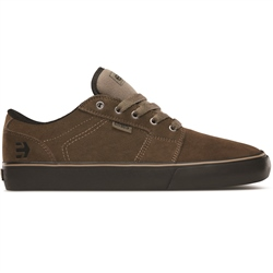 Etnies Barge Shoes - Olive & Black