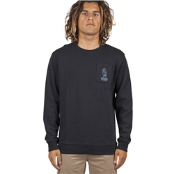 Rip Curl Set Up Sweatshirt - Black