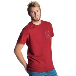 Rip Curl Authentic T-Shirt - Red
