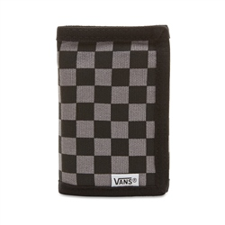Vans Slipped Wallet - Black & Gunmetal