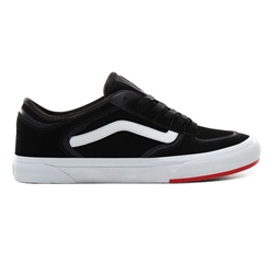 Vans Rowley Classic Shoes - Black & Red