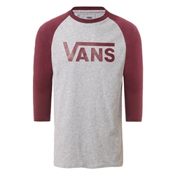 Vans Classic Raglan T-Shirt - Heather & Prune