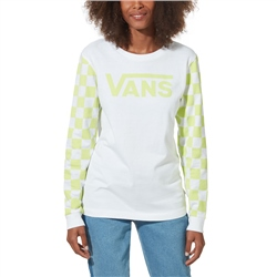 Vans Big Bold DIY T-Shirt - White & Green