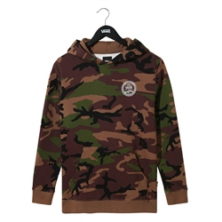 Vans Check Side Hoody - Camo