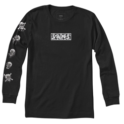 Vans Boys Them Bones T-Shirt - Black & Skulls