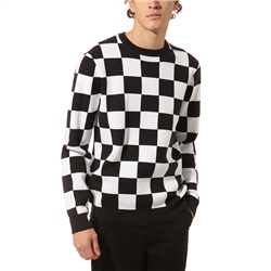 Vans Checker Jumper - Black & White