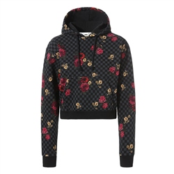 Vans Botanical Check Crop Hoody - Botanical