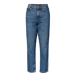 Vero Moda Sara MR Relaxed Straight Jeans - Medium Blue