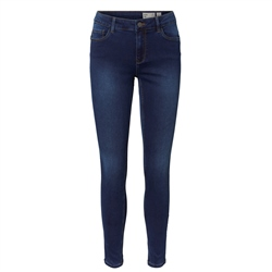 Vero Moda Seven Mr S Shape Up Jeans - Dark Blue