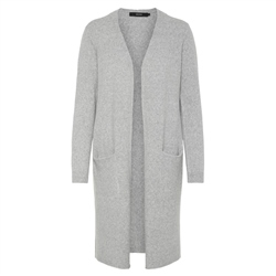 Vero Moda Doffy Cardigan - Light Grey