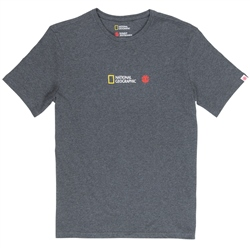 Element National Geographic Quadrant Seasons T-Shirt - Charcoal Heather
