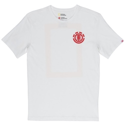 Element National Geographic Unison T-Shirt - Off White