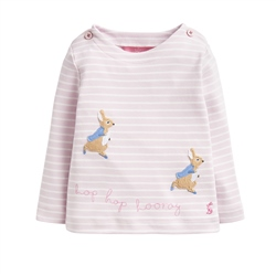 Joules Harriet T-Shirt - Pink Rabbit