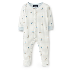 Joules Ziggy Babygrow - Cream Rabbit