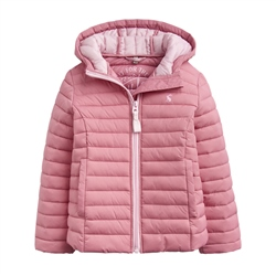 Joules Kinnaird Packable Jacket - Cherry Blossom