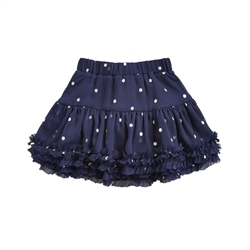 Joules Lillian Skirt - Navy Spot