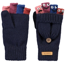 Barts Puppet Bumgloves - Dark Navy