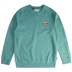 Billabong Iconic Mens Sweatshirt - Emerald