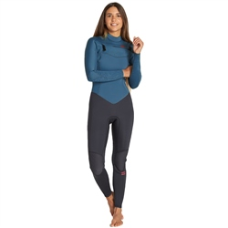 Billabong Furnace Synergy 5/4mm Wetsuit - Black & Blue