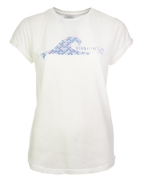 Born by the Sea Womens T-Shirt - White
