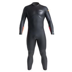 C-Skins SR  Swim 4/3mm Mens Wetsuit - Black & Orange