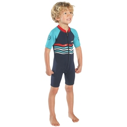 C-Skins Element 3/2mm Baby Boy Wetsuit - Navy & Red