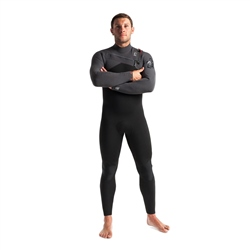 C-Skins 5mm Rewired Mens Wetsuit CZ GBS - Black & Charcoal