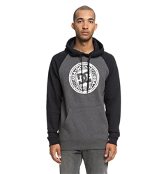 DC Shoes Circle Star Mens Hoody - Black & Charcoal