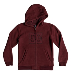 DC Shoes New Star Boys Hoody - Cabernet