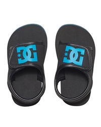DC Shoes Bolsa Boys Flip Flops - Black