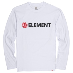 Element Blazin Mens T-Shirt - White