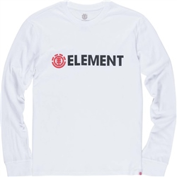 Element Mens Blazin T-Shirt - White