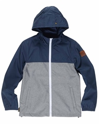 Element Alder Boys Light Jacket - Navy & Grey